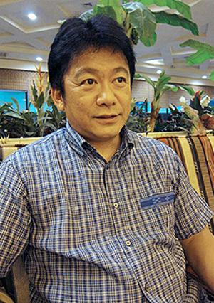 石垣市長中山義隆 拍攝/楊鎮宇